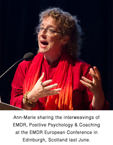 Ann-Marie at the EMDR Conference in Edinburgh Scotland last June